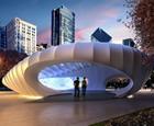Burnham Pavilions, Chicago, USA