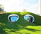 Hobbit-Hole Duplex Dug, Atlantic Beach, Florida, USA