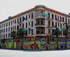 Defenestration, San Francisco, California, USA