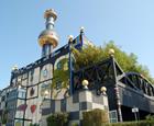 Spittelau Waste Incineration Plant, Vienna, Austria