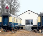 Rail Cars House, Marl-Sinsen, Germany