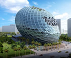 Cybertecture Egg, Mumbai, India