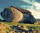 Stone (Age) House, Fafe Mountain, Portugal