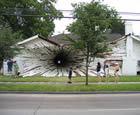 The Hole House, Huston, Texas, USA